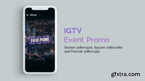 VideoHive IGTV — Stylish Event Promo Vertical and Square 23381906