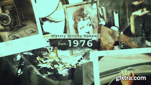 VideoHive History Glitchy Opener 22589536