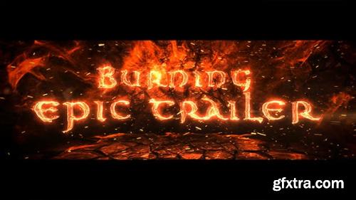 VideoHive Burning Epic Trailer 17451804