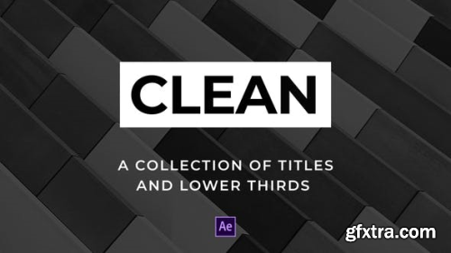VideoHive Clean Titles and Lower Thirds 23192497