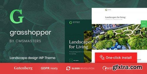 ThemeForest - Grasshopper v1.0.4 - Landscape Design and Gardening Services WP Theme - 22418703
