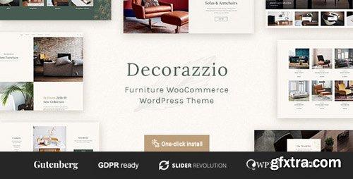 ThemeForest - Decorazzio v1.0.1 - Interior Design and Furniture Store WordPress Theme - 23457170