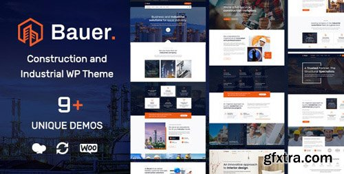 ThemeForest - Bauer v1.1 - Construction and Industrial WordPress Theme - 23904858