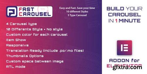 CodeCanyon - Fast Carousel for Elementor v1.0 - WordPress Plugin - 24172954