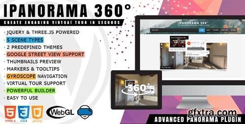 CodeCanyon - iPanorama 360° v1.5.4 - Virtual Tour Builder for WordPress - 17028820