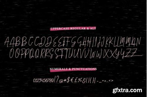 Amillia - Signature Script Font