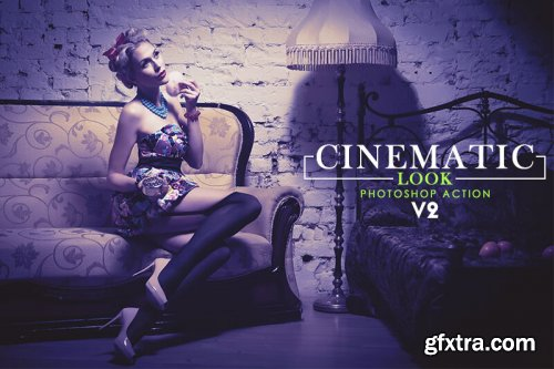 Cinematic Look Photoshop Action V2