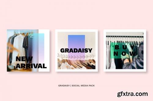 Gradaisy Social Media Pack