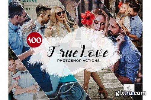 CreativeMarket - 100 True Love Photoshop Actions 3934901