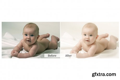 CreativeMarket - 80 Baby Photoshop Actions