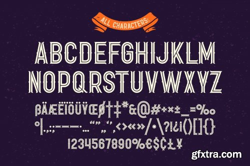 CreativeMarket -  Shooter font with bonus 3955168