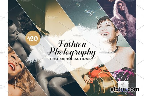 CreativeMarket - 120 Fashion Photography Lightroom Presets 3934604