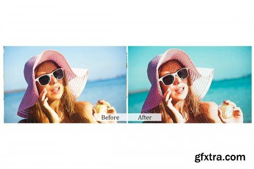 CreativeMarket - 120 Film Effect Photoshop Actions 3934679
