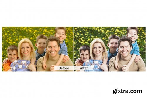 60 Family Photoshop Actions