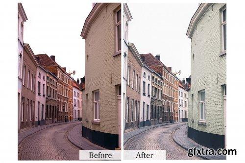 CreativeMarket - 70 Exterior Photoshop Actions 3934451