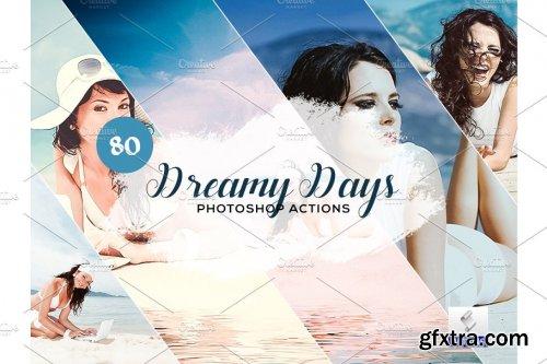 CreativeMarket - 80 Dreamy Days Photoshop Action 3934403