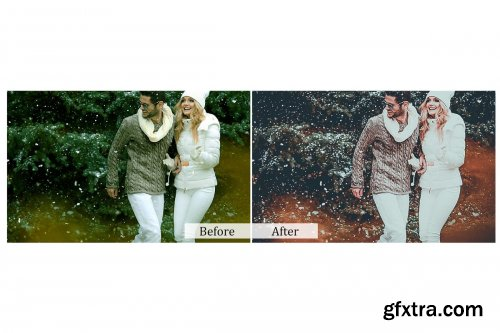 CreativeMarket - 80 Romantic Photoshop Actions 3937967