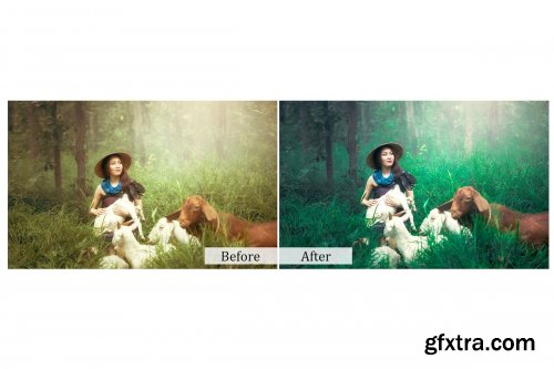 CreativeMarket - 75 Nature Photoshop Actions