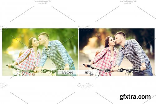 CreativeMarket - 100 Lovely Color Photoshop Actions 3937852