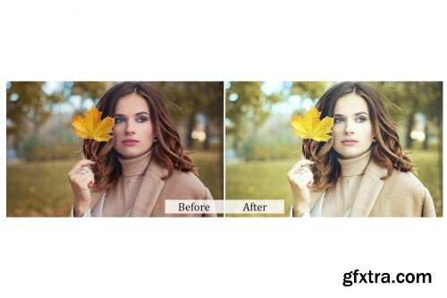 CreativeMarket - 45 Light Photoshop Actions 3937829