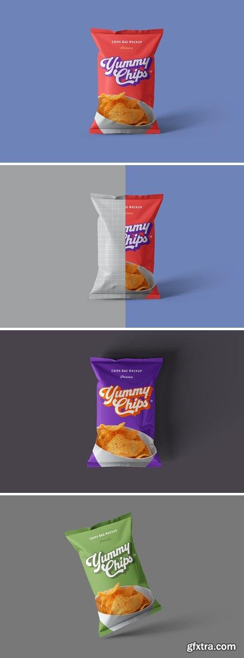 Chips Bag Mockups