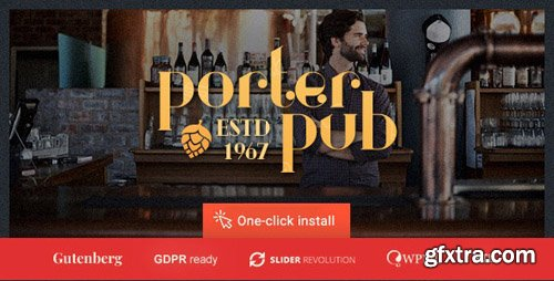 ThemeForest - Porter Pub v1.0.8 - Restaurant Bar WordPress Theme - 20353295