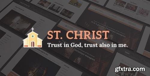 ThemeForest - St. Christ - Church Charity Joomla Template (Update: 11 April 19) - 21626052