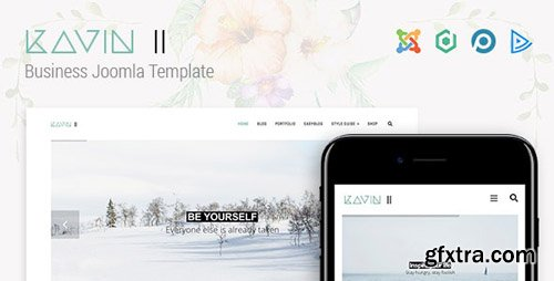 ThemeForest - Kavin II - Business Joomla Template (Update: 11 April 19) - 22386009