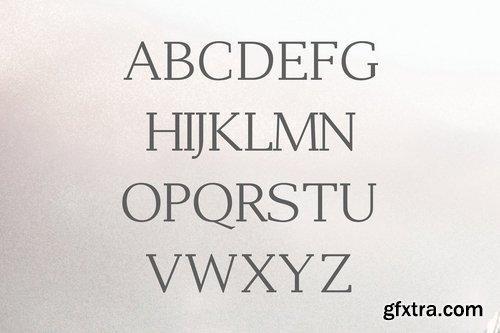 CM - Adrina Modern Serif Font Family 3986997