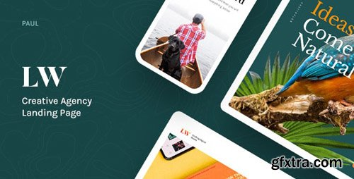 ThemeForest - Lewis v1.0 - Creative Agency Landing Page - 24179611