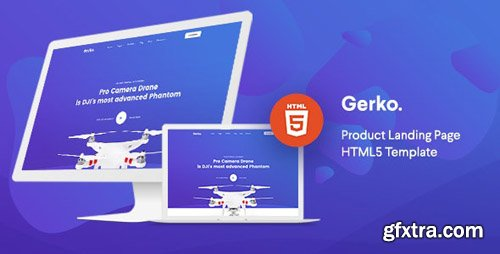 ThemeForest - Gerko v1.0 - Product Landing Page Template with Bootstrap - 24088630