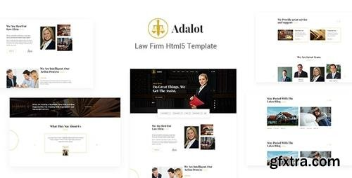 ThemeForest - Adalot v1.0 - Multipurpose Lawyer & Attorney Consulting Firm HTML5 Template - 23849562