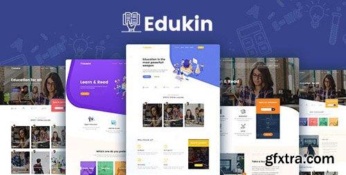 ThemeForest - Edukin v1.0 - Education HTML Template - 24211535