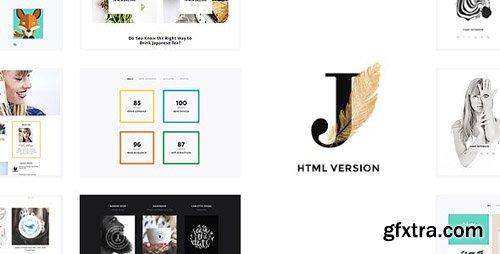 ThemeForest - Cindy J v1.0 - Creative Portfolio / Blog / CV HTML Theme - 18913256