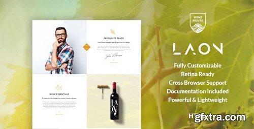 ThemeForest - Laon v1.1 - Wine House, Vineyard & Shop HTML Template - 20052497