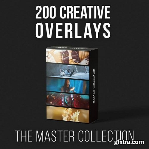RGGEDU - Master Collection | 200 Creative Overlays