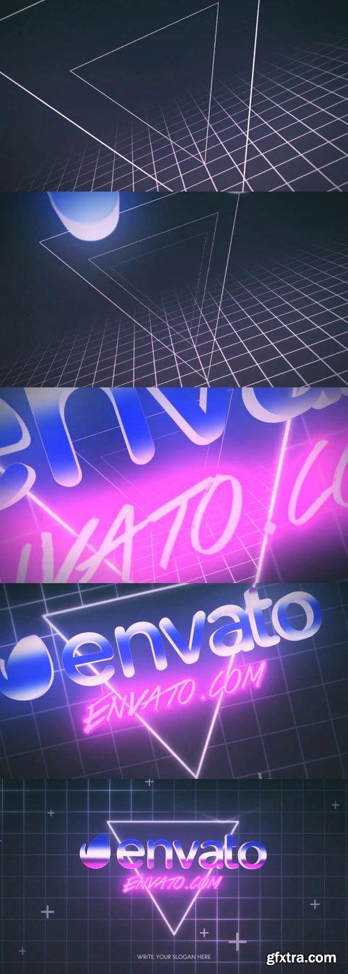 Videohive - 80s Retro Logo Reveal - 22805405 » GFxtra