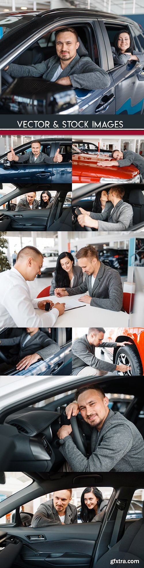 Purchase of car and insurance in dealer center
