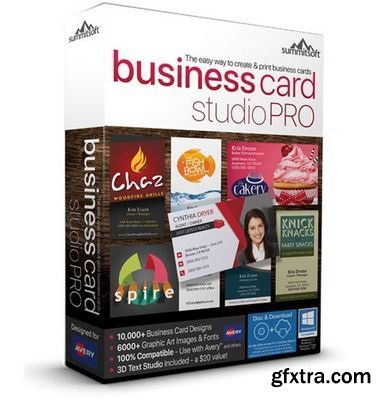 Summitsoft Business Card Studio Pro 6.0.4 Portable