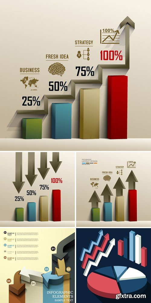 3d Infographic Chart 25