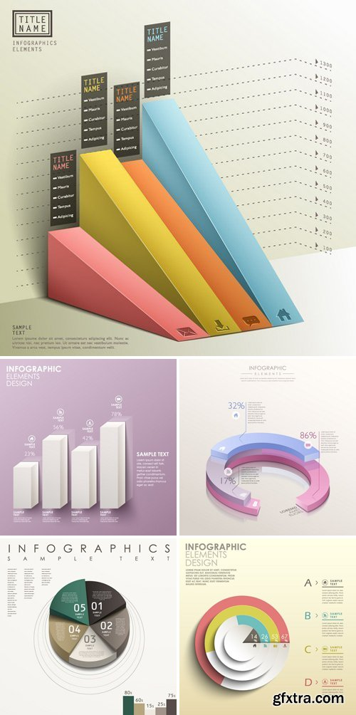3d Infographic Chart 26