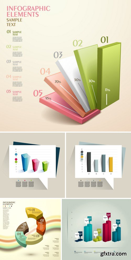 3d Infographic Chart 27