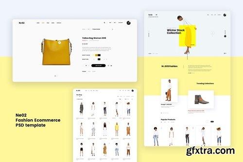 Ne02 - Fashion Ecommerce PSD template