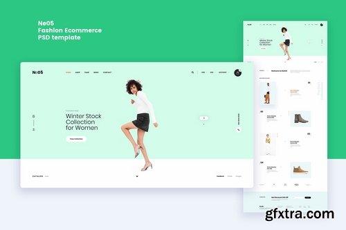 Ne05 - Fashion Ecommerce PSD template