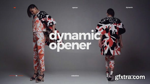 VideoHive Dynamic Opener / Fast Stomp Typography / Fashion Event Promo / Clean Rhythmic Intro 22429285