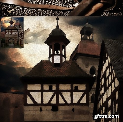 GraphicRiver - 18th Century Painting Photoshop Action 23331799