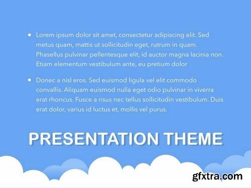Cloudy Keynote Theme