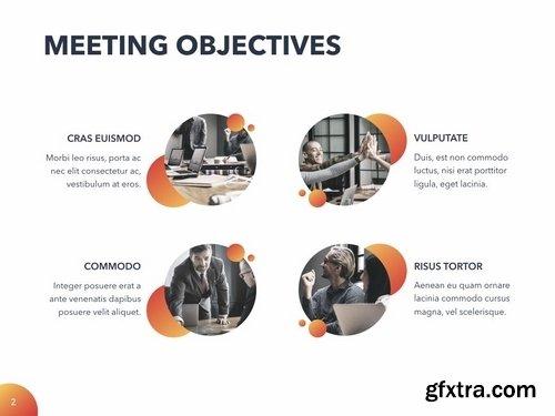 Weekly Meeting Keynote Template