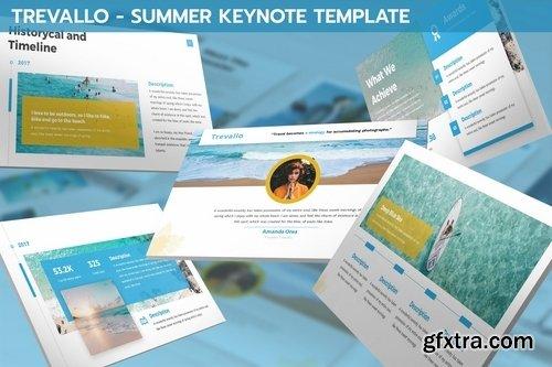 Trevallo - Summer Keynote Template