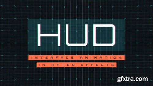 HUD Interface Animation in After Effects